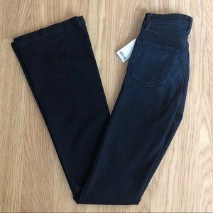NWT J Brand Maria high rise flare dark jeans 24